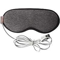 Dampf Brille USB-Elektrische Wärmeschutz Augenmaske Schattierung Schlaf Grau preisvergleich bei billige-tabletten.eu