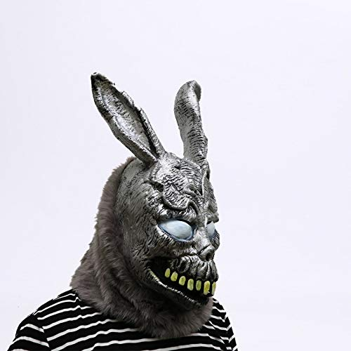 VAWAA Tier Cartoon Kaninchen Maske Donnie Darko Frank Der Hase Kostüm Cosplay Halloween Party Maks Liefert