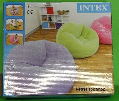Intex® Lounge–Sillón Hinchable para Tienda