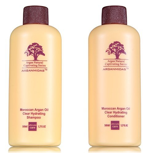 Arganmidas Clear Hydrating Shampoo und Conditioner Reiseset -