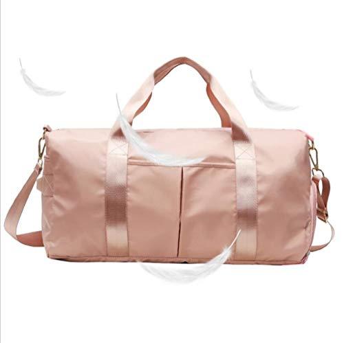 DSAEFG Sport-Sporttasche mit Nasstasche und Schuhfach Wasserdichtes Schwimmtraining Reisetasche for Frauen über Nacht 20 L