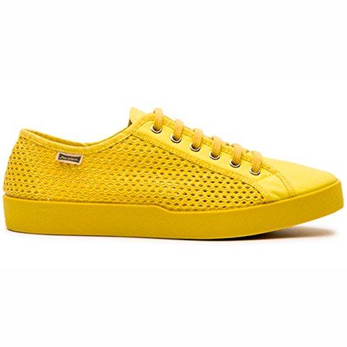 Maians. Chaussures de mode décontractée pour les hommes. Artesanel manufacturé. Fabriqué en Espagne. Sneaker en daim et coton. (42 EU, Blue/Black)
