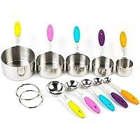 Set de cucharas de medir 10pcs de alta calidad