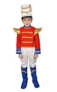 Dress up America Deluxe Toy Soldier Costume Set (S)