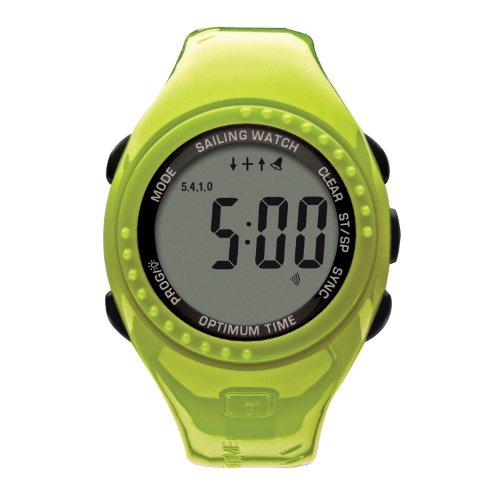 Optimum Time Series 11 Ltd Edition Segelyacht- und Beiboot-Uhr GRÜN -