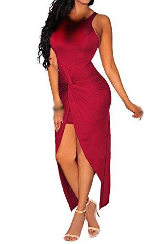 Valin SY60658 deman sexy kleider Party Kleid Rot