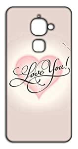 Happoz Love you Mobile Phone Back Panel Printed Fancy Pouches Accessories Z1480