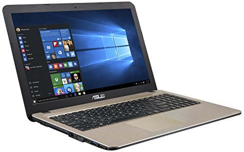 "ASUS X540LA-XX265T - Portátil de 15.6"" HD (Intel Core i3-5005U, 4 GB de RAM, 500GB HDD, Intel HD Graphics 5500, Windows 10 Home) negro chocolate - teclado QWERTY español"