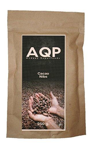Nibs de Cacao (250g), Esencia Natural del Chocolate - Sin Azúcares Añadidos - Producto Vegano, 100{cb2d551cff05e5e5a1b34c0b25aaffa7b2e87d31599013d5031136ca5a9d0f2a} Natural de la Amazonía Peruana