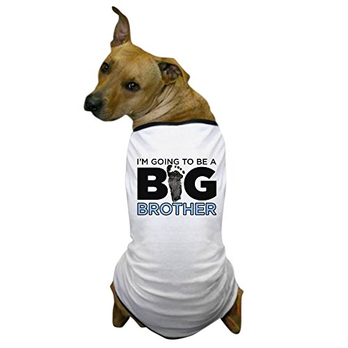 CafePress Hunde-T-Shirt, Aufschrift I'm Going to Be A Big Brother