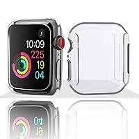 Apple Watch Series 4 İçin Tam Kaplamalı FullTpu Silikon 44 MM Markacase