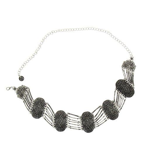 Fashiongen Cintura Metallico Catena da Donna ESLSA