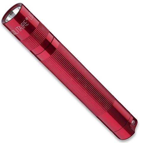 MagLite SJ3A032U Solitaire LED Taschenlampen mit Alkaline Batterie im Etui, 8 cm Länge, 1,3 cm Kopfdurchmesser,