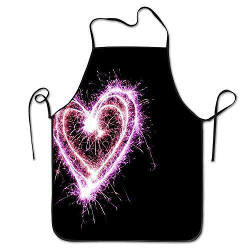 Dacron - Delantal tela rizo día San Valentín, color