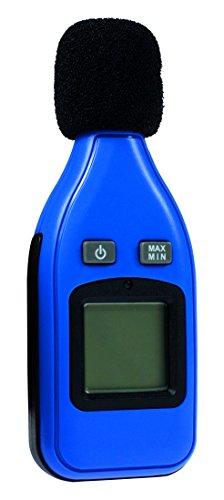 as - Schwabe 24105 Dezibel-Messgerät, digital, zur Messung von Schallpegel, Lärm und Lautstärke, blau