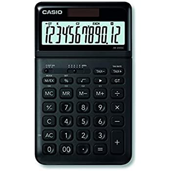8-stelliges Di CASIO MS-80VER II Tischrechner kompakt mit Metallfront blau
