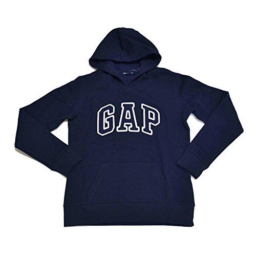 Logo Fleece Pullover (GAP Damen Fleece Arch Logo Pullover Hoodie (X-Large, Blau))