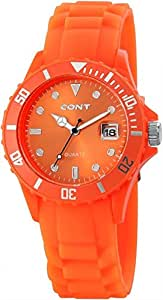 CONT Damen-Armbanduhr Analog Quarz Silikon RP3458590002