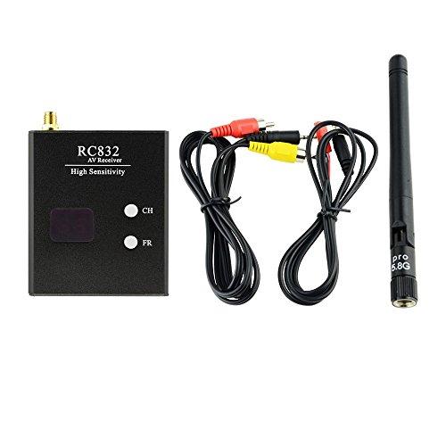 Gotoqomo G832R 40CH Wireless FPV Empfänger für Racing Drone und Multikopter