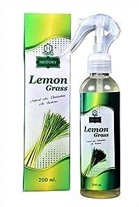 HISTORY Lemon Grass Air Freshner Spray (200 ML)