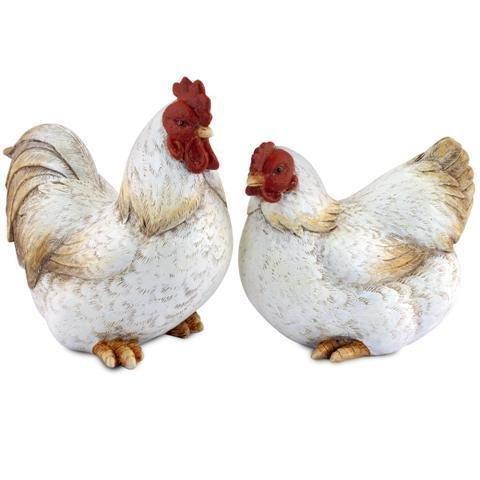 sigris-figura-x2-gallinas-blancas-18-cm-70717sg
