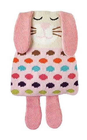 Aroma Home Knitted Animal Hotties - Rabbit, gestrickter Körperwärmer Hase,
