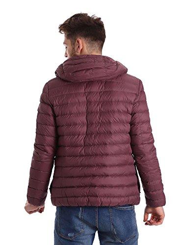 Geox Herren Man Down Jacket Bordeaux