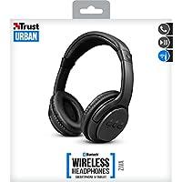 Trust Urban Ziva 22455 Kablosuz Bluetooth Kulaklık, Siyah