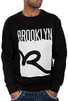 Rocawear Mens Boys Big R Jumper Sweatshirt Hip Hop Money Is Time