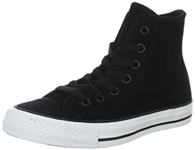 Converse Chuck Taylor All Star Suede Black 117275, Unisex-Erwachsene Fashion Sneakers, Schwarz (Black), EU 41.5 (US 8)