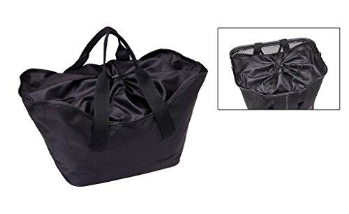 Racktime Einlegetasche LEA carbon schwarz carbon schwarz,24 x 30 x 22 cm