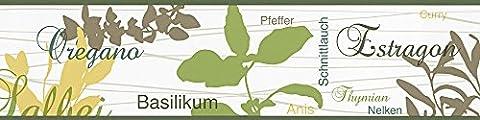 A.S. Création selbstklebende Bordüre Only Borders 9 Borte gelb grün weiß 900111
