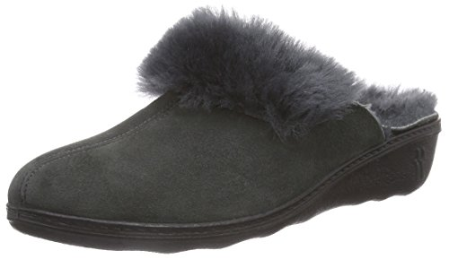 700 anthrazit Damen Grau Romilastic Romika 306 Pantoffeln x8P6vnw7