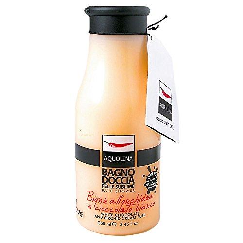 AQUOLINA BAGNO DOCCIA PELLE SUBLIME 250 ml BIGNE ORCHIDEA E CIOCCOLATO BIANCO