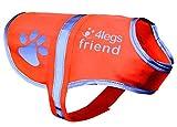 4LegsFriend Hunde Sicherheitsweste (5 Größen, S) - Hohe Sichtbarkeit für...