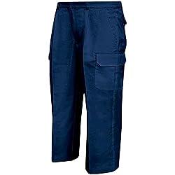 Misemiya ® Pantalón MULTIBOLSILLO Uniforme Trabajo Laboral Industrial Taller MECÁNICO Técnico Fontanero Albañil - Ref.872-54, Azul Marino