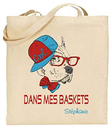 Tote Bag Personnalisé pour votre enfant - Pour une rentrée des classes réussie offrez lui un sac personnalisé. Vous avez pensez aux étiquettes personnalisées, à la blouse de peinture