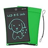 NEWYES 8,5 Pulgadas Tableta Gráfica  Tablet de Escritura LCD eWriter   Tableta portátil de Dibujo o Notas para el Hogar, Escuela u Oficina  Adecuado como Juguete para niños y niñas (Verde)