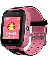 Neckip Smart Watch para niños de Seguridad con Tarjeta SIM - Reloj Inteligente LBS Tracker -
