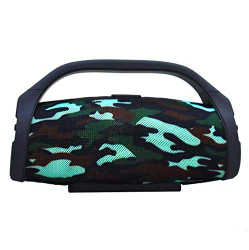CE-LXYYD Professionelle Mini Boombox Outdoor HiFi Bass Säulenlautsprecher, Wireless Bluetooth wasserdichtlautsprecher Subwoofer Sound Box mit FM Radio TF Mp3 Player,Camouflage Sirius Wireless Lautsprecher
