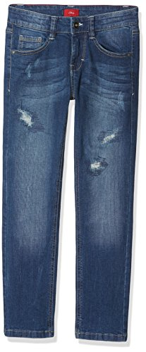s.Oliver Jungen Jeans 61.708.71.2984, Blau (Blue Denim Stretch 56Z5), 158