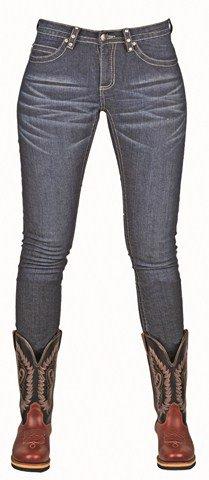HKM Western Jeans Stiefelhose Crystal, Gr. 68 (Jeans Western)
