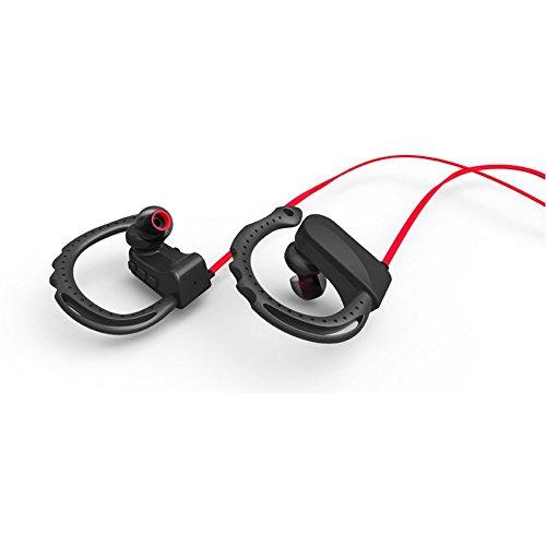 CDC-Drahtlose-Bluetooth-41-freihndig-tragbare-Bluetooth-Kopfhrer-Wireless-Outdoor-Sport-Kopfhrer-mit-Mic-Voice-Control-Kopfhrer-und-Ohrbgel-fr-Outdoor-Sportarten-Phones-Schwarz-Rot