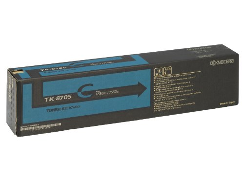 Preisvergleich Produktbild Kyocera 1T02K9CNL0 TK-8705C Tonerkartusche 30.000Seiten, cyan