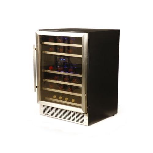 41ne2hoWB4L. SS500  - Hostess 46 Bottle Built-in Wine Cabinet HW46MA Fridge Cooler Chiller