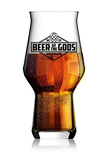 Wacken Brauerei - Bierglas - Beer of the Gods, Craftmaster One - Craftbeer-Glas Menge 3 Stück