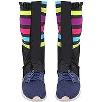 Gaiter de Nieve, 1 Par de Deportes Al Aire Libre Escalada Senderismo Legging Gaiters Calzado Botas Cubierta para Adulto(9#)