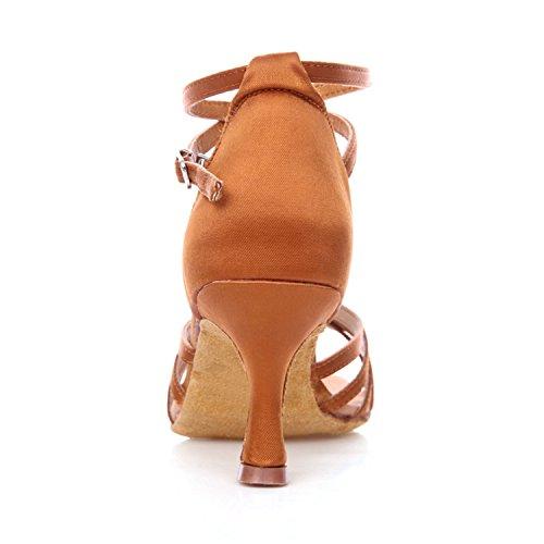 Miyoopark - Ballroom donna Brown-7.5cm Heel