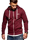 JACK & JONES Herren Sweatjacke Hoodie (XX-Large, Port Royale)