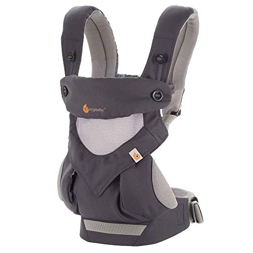 ERGObaby Babytrage 360 - Cool Air Carbon Grey